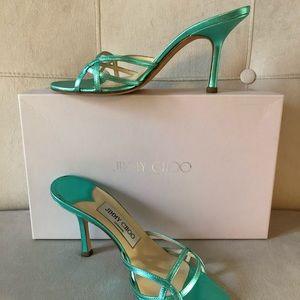 Authentic Jimmy Choo Heels, Sandals Sz 36